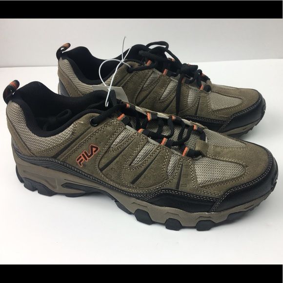 Fila Men's Midland hiking trail shoes NWT